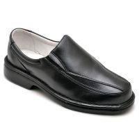 Sapato Anti-stress Comfort em Couro Legítimo Preto