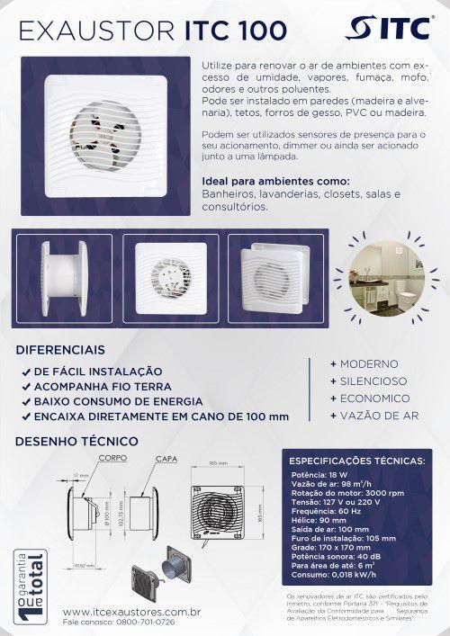 EXAUSTOR ITC 100 220 V
