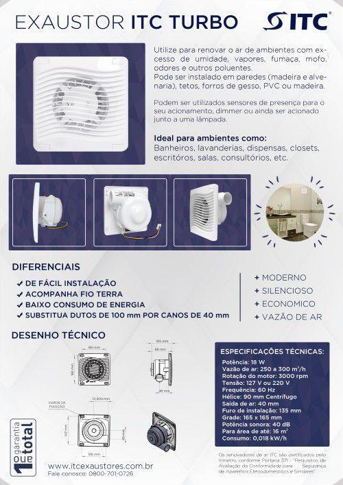 EXAUSTOR ITC TURBO 220 V
