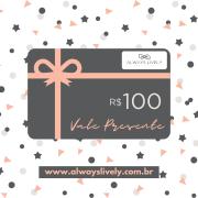 Cartão Vale Presente VP100