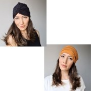 Kit Chic & Cool - 1 Turbante + 1 Gorro