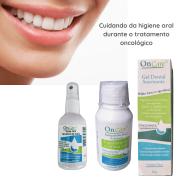Kit Cuidado Oral Boca Sensível - Gel Dental+Enxag+Spray Oral