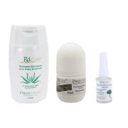 Kit Cuidados Corporais - Sabonete + Desodorante + Revitalizante Unhas