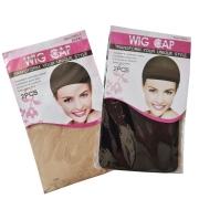 Kit Wig Cap -Touca Meia - 2 pctes com 2 peças cada - total 4 unids