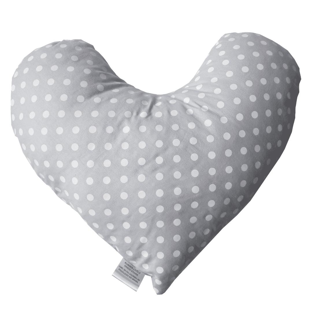 Almofada Protetor Cinto + Almofada Coração P -conforto pós cirurgia mastectomia - Opção 2