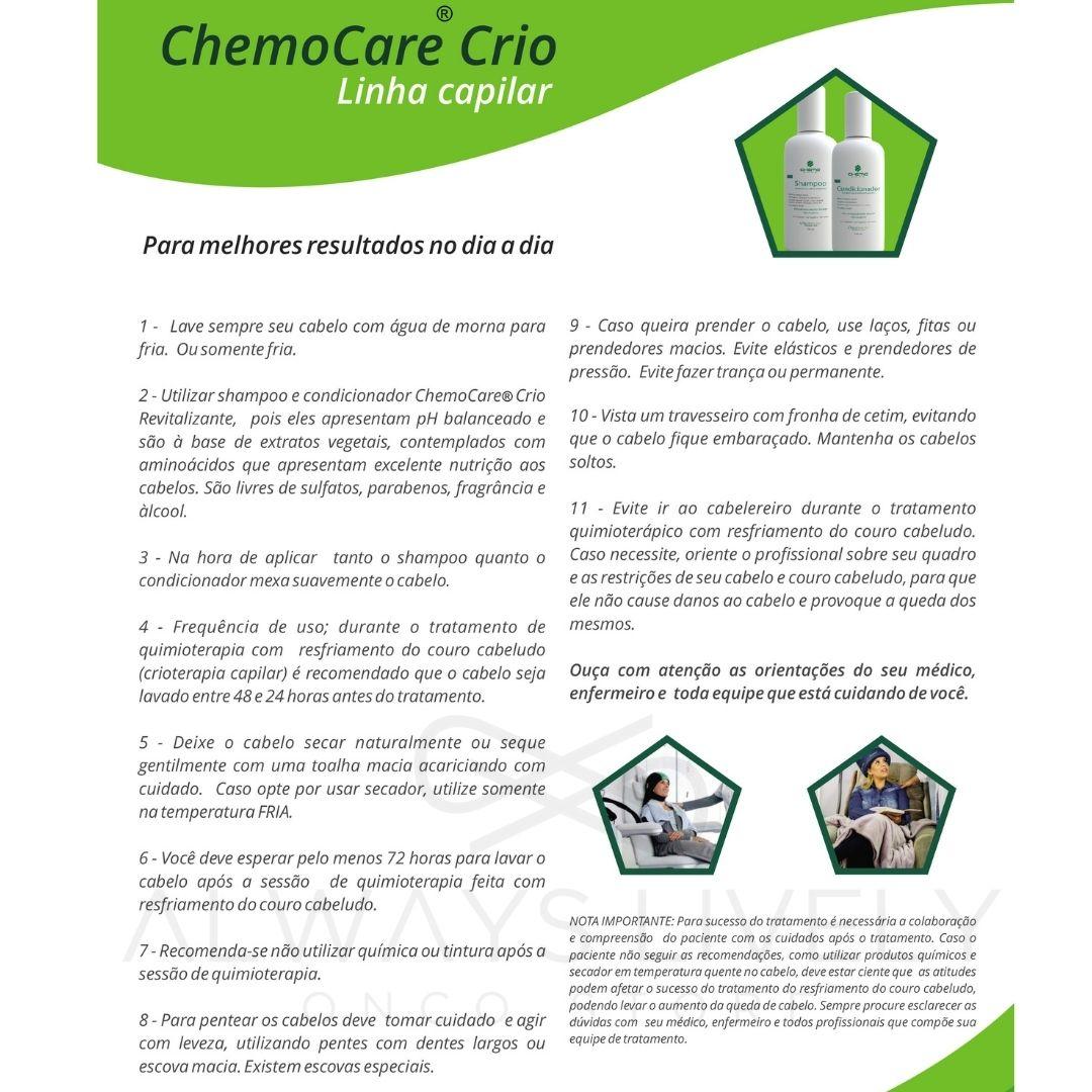 Condicionador Cabelos Enfraquecidos 120ml - Chemo Care Crio