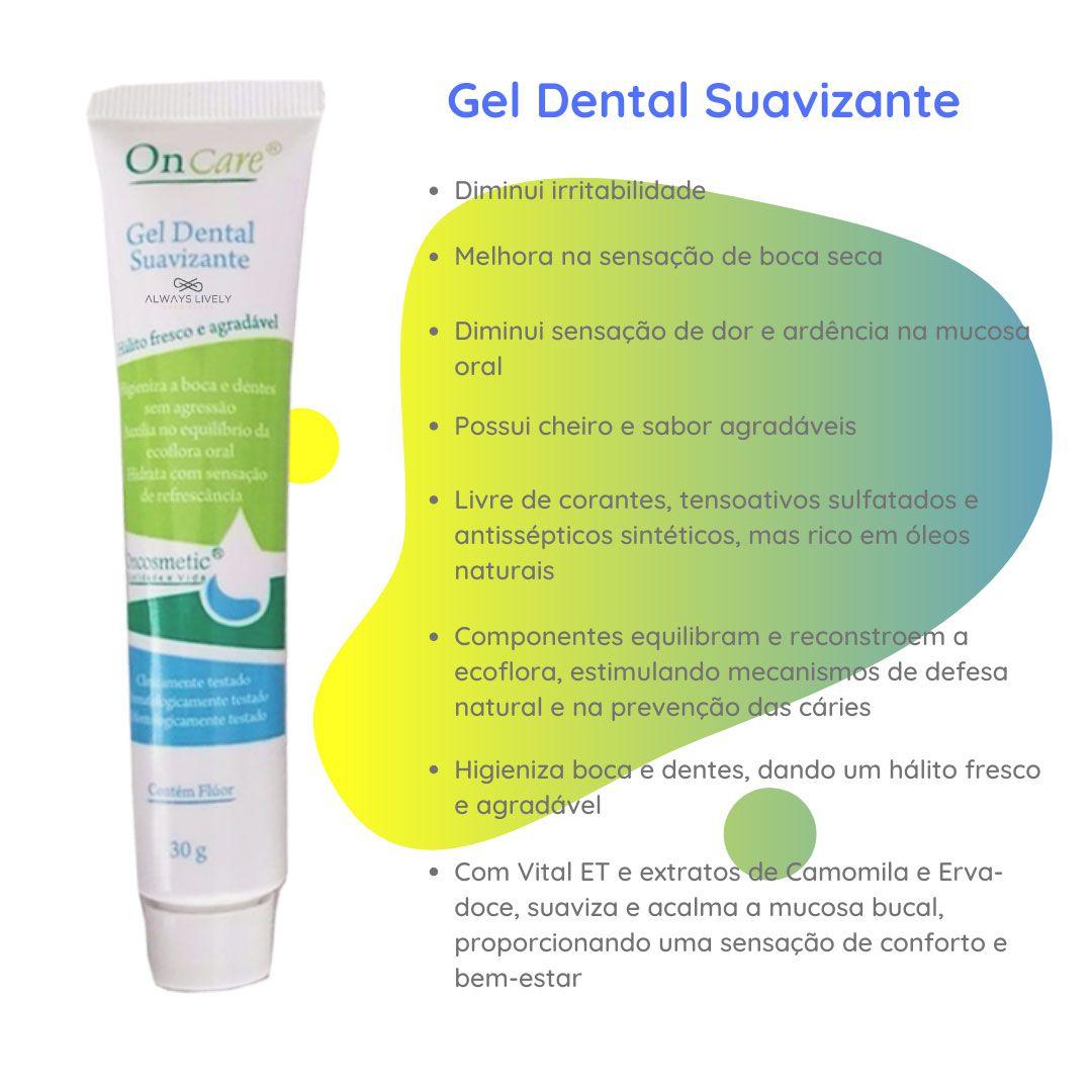 Creme Dental em Gel Boca Sensivel por Quimioterapia Oncosmetic 30g