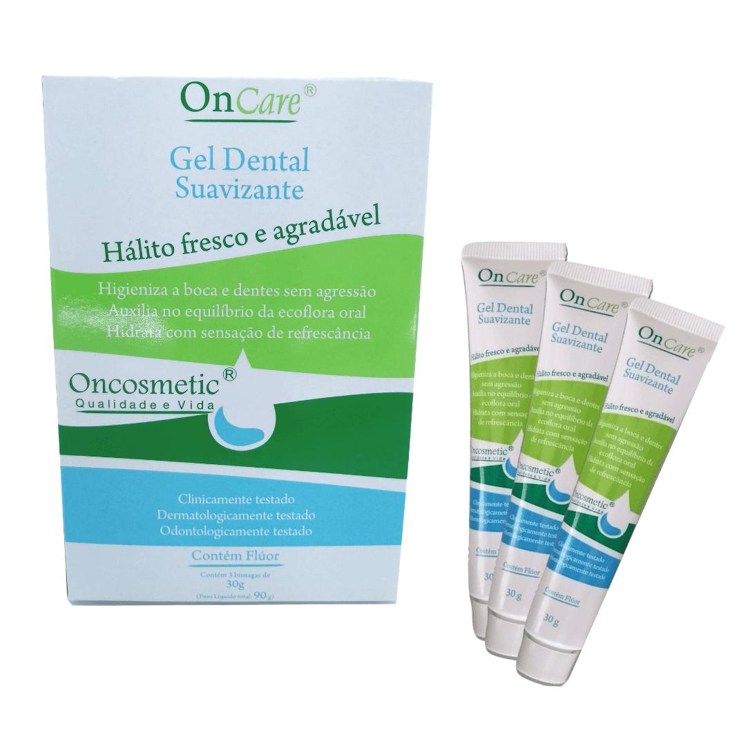 Gel Dental Boca Sensível Oncosmetic Pac 3 bisnagas