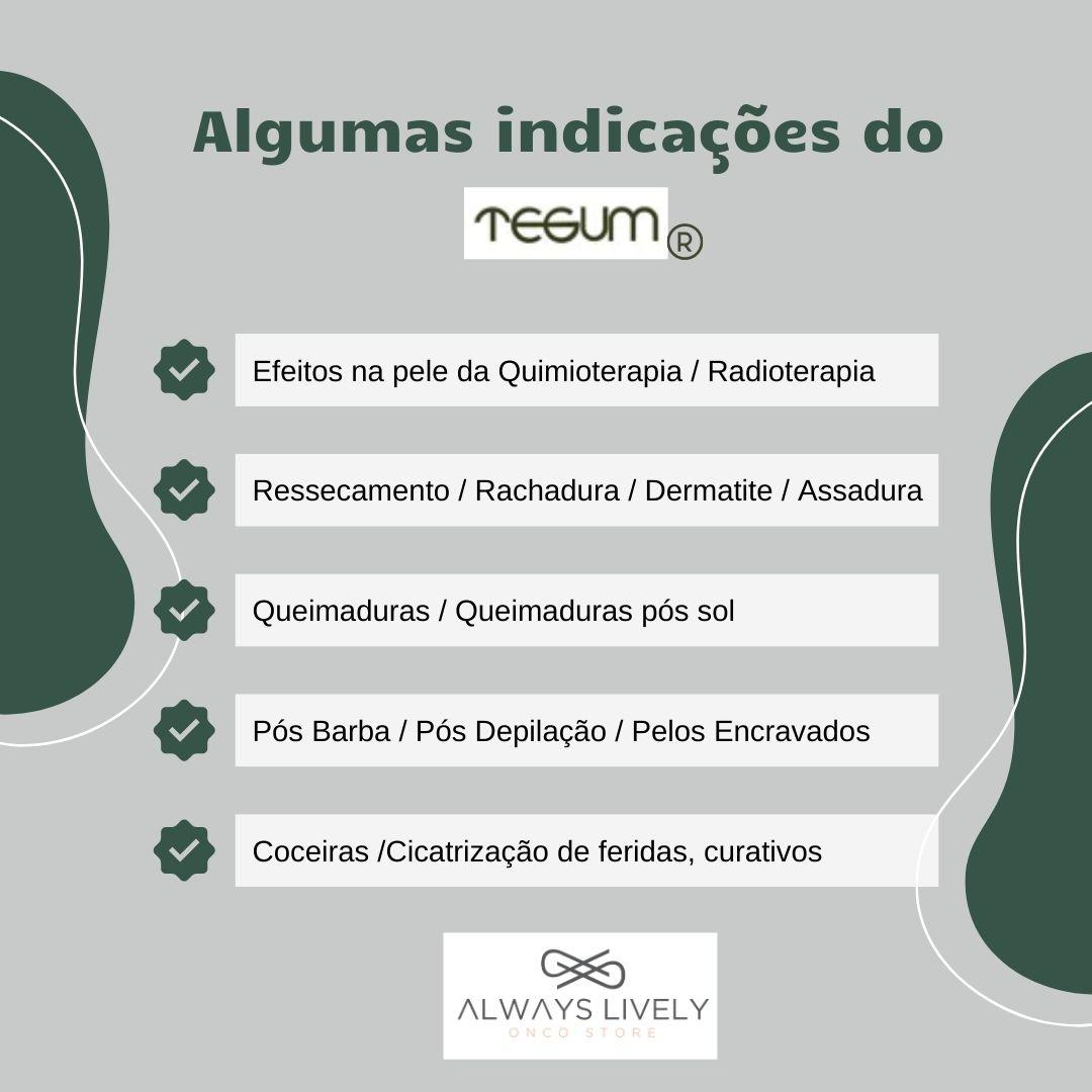 Creme Tegum Emulsão Óleo Andiroba 100g Hidrata Regenera Pele
