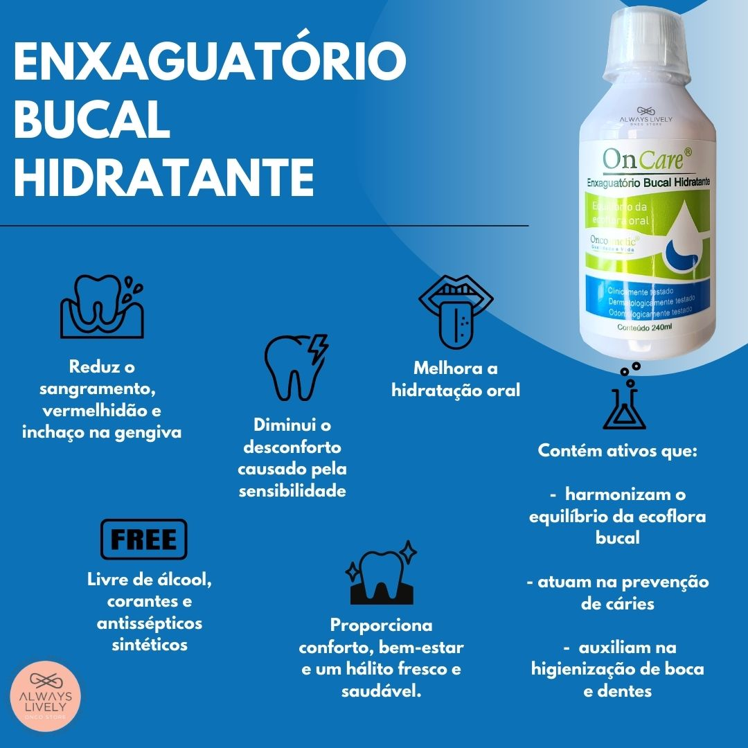 Enxaguatório Bucal OnCare - Oncosmetic 240ml