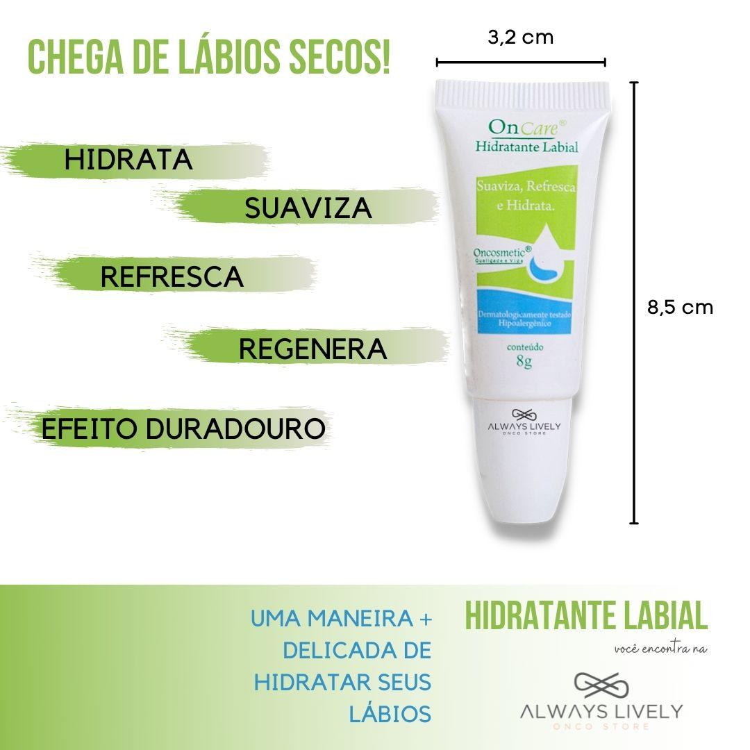 Hidratante Labial Hipoalergênico 8g