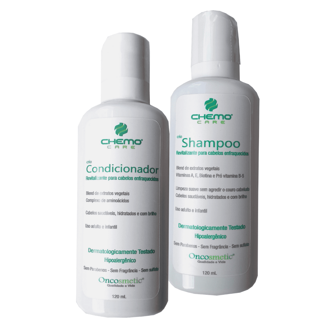 Kit Shampoo e Condicionador Cabelos Enfraquecidos - 120ml