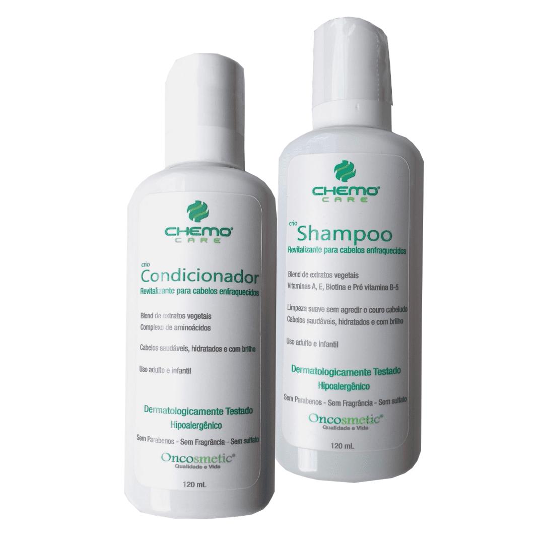 Kit Shampoo e Condicionador Cabelos Enfraquecidos - 120ml