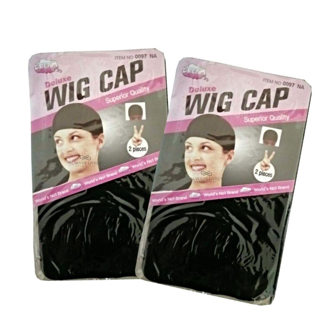 Kit Wig Cap -Touca Fina - 2 pctes com 2 peças cada - total 4 unid