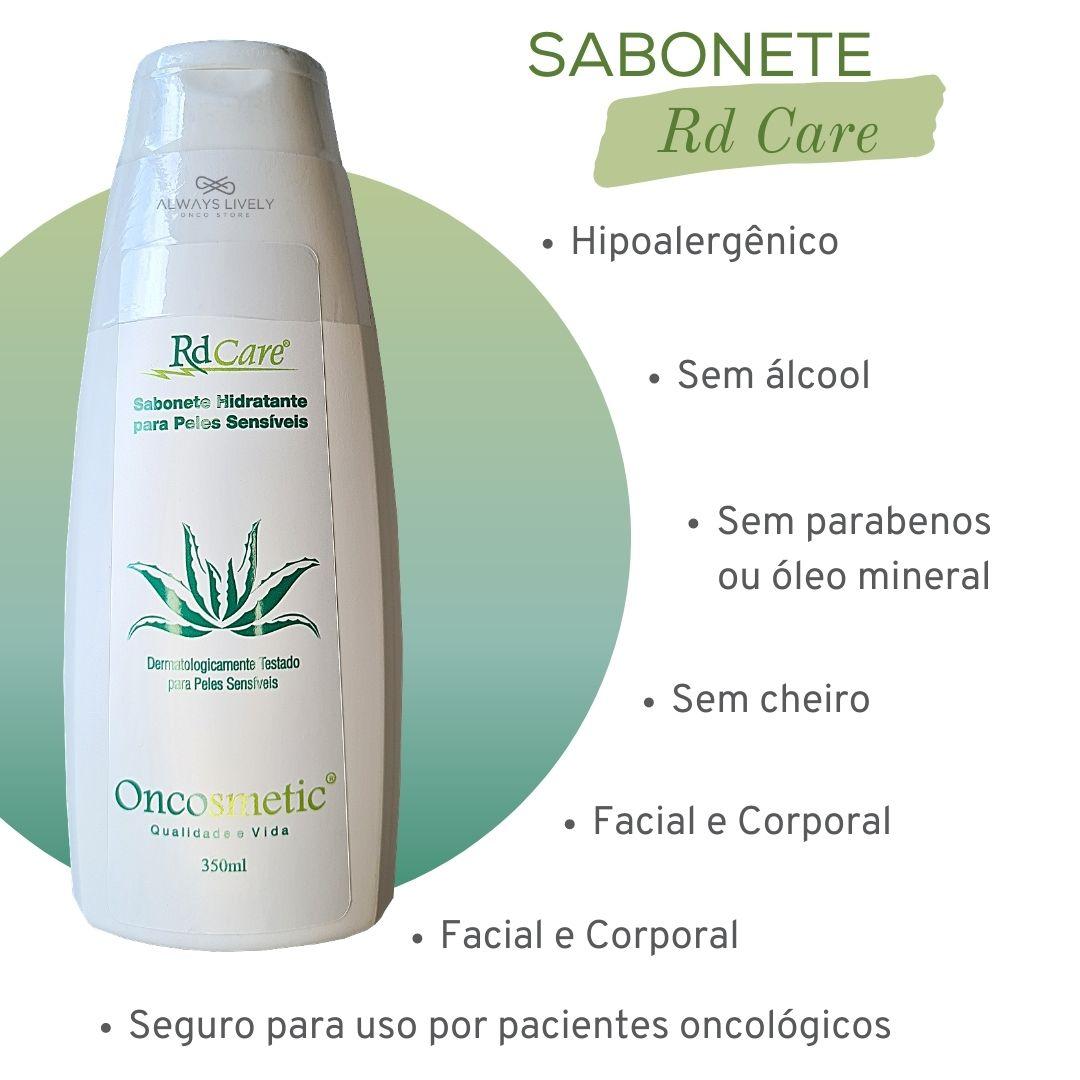 Sabonete Hidratante 350ml - Quimioterapia Radioterapia