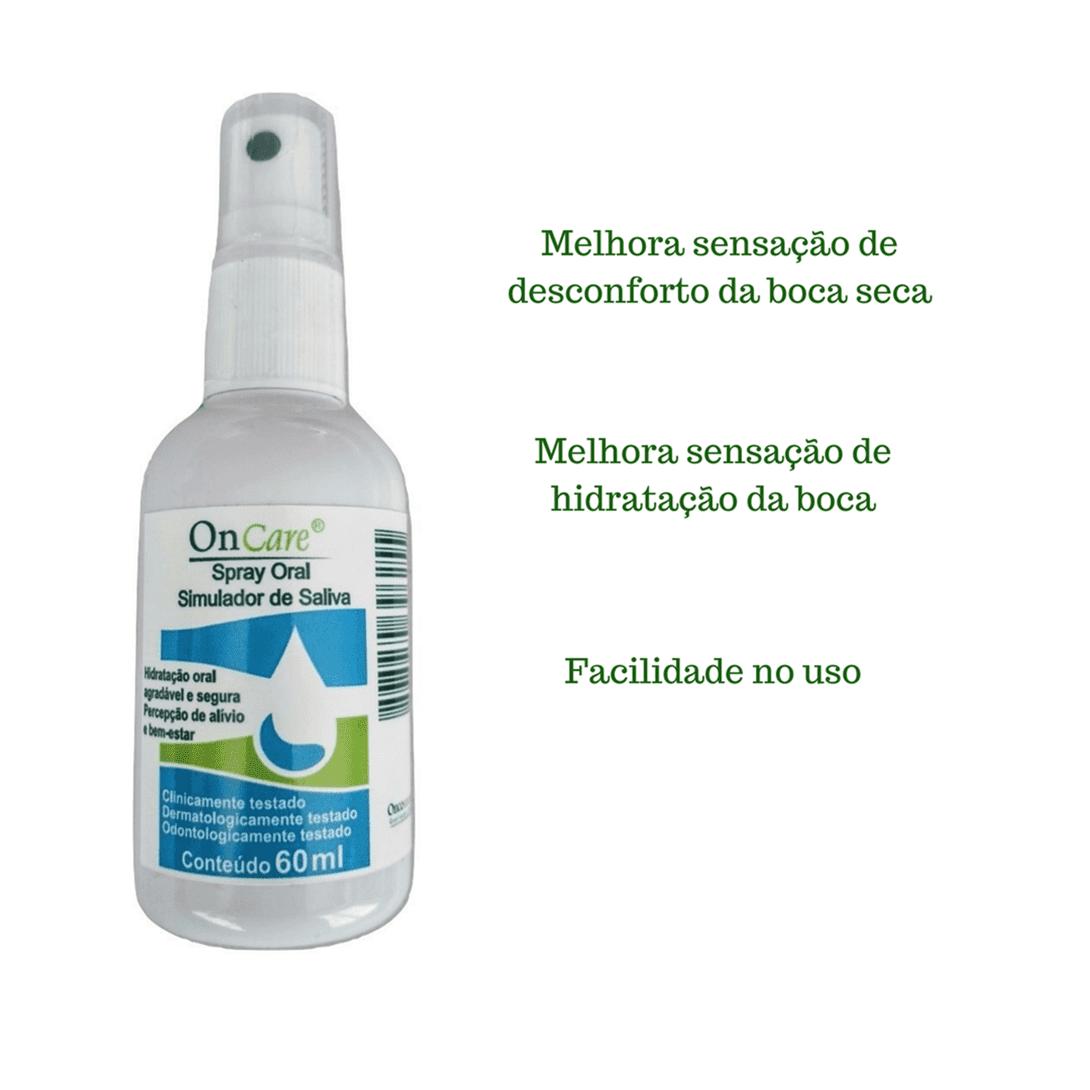 Saliva Artificial - Simulador De Saliva - Boca Seca - 60ml