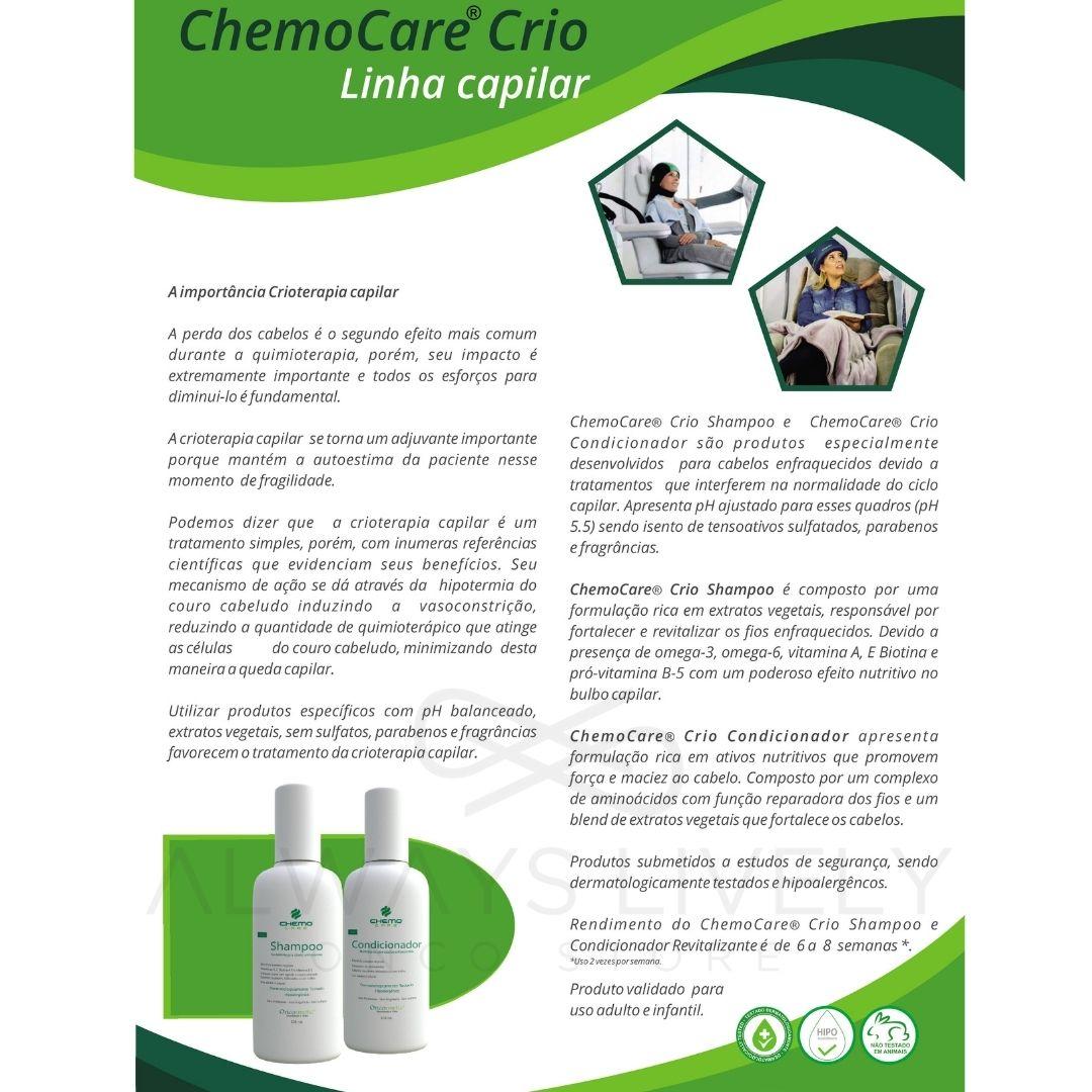 Shampoo Cabelos Enfraquecidos 120ml - tratamento oncológico