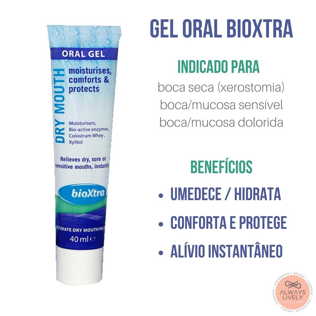 Simulador de Saliva Gel Bioxtra - Boca Seca Xerostomia 40ml