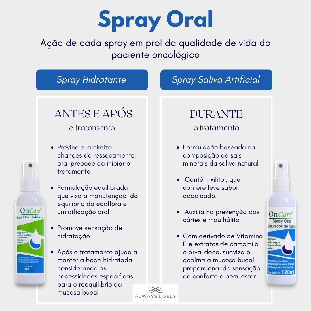 Spray Oral Hidratante Oncare Oncosmetic 100ml