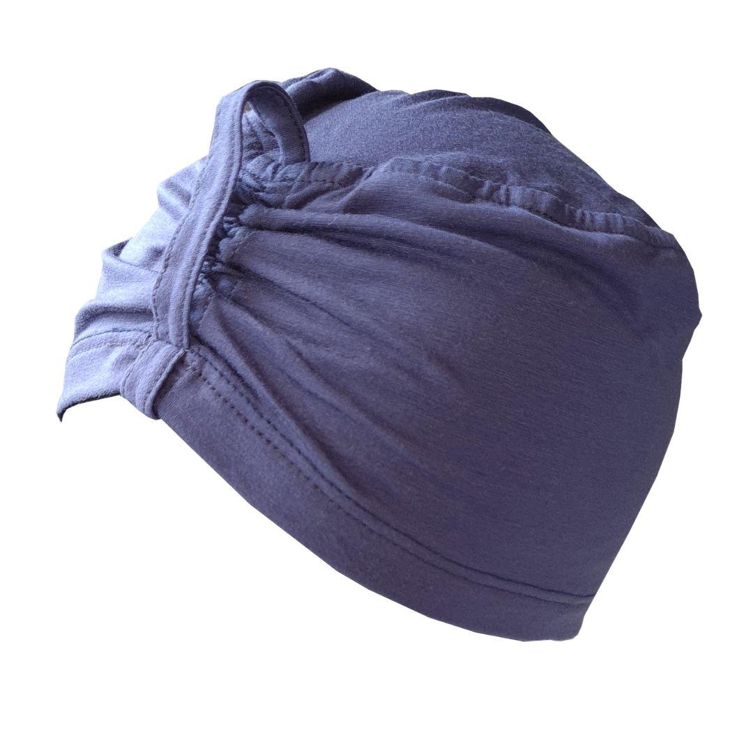 Touca de Dormir - Touca Sleep Azul Anil