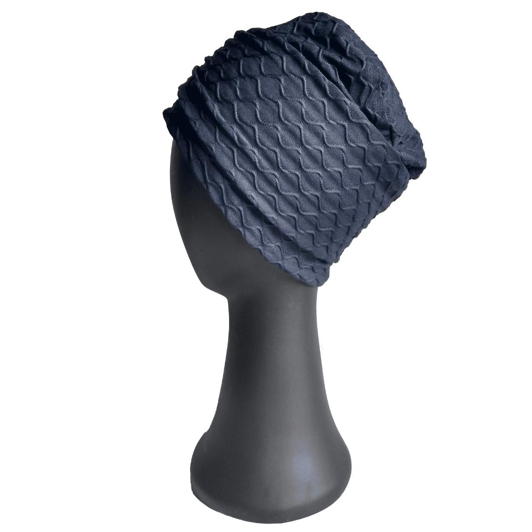 Turbante Feminino Azul Marinho Alice Losan