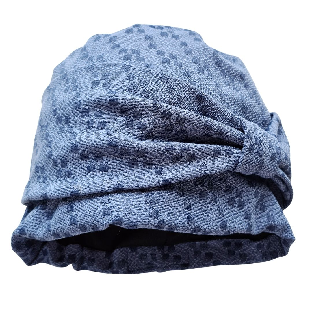 Turbante Feminino Alice Pixel Blue