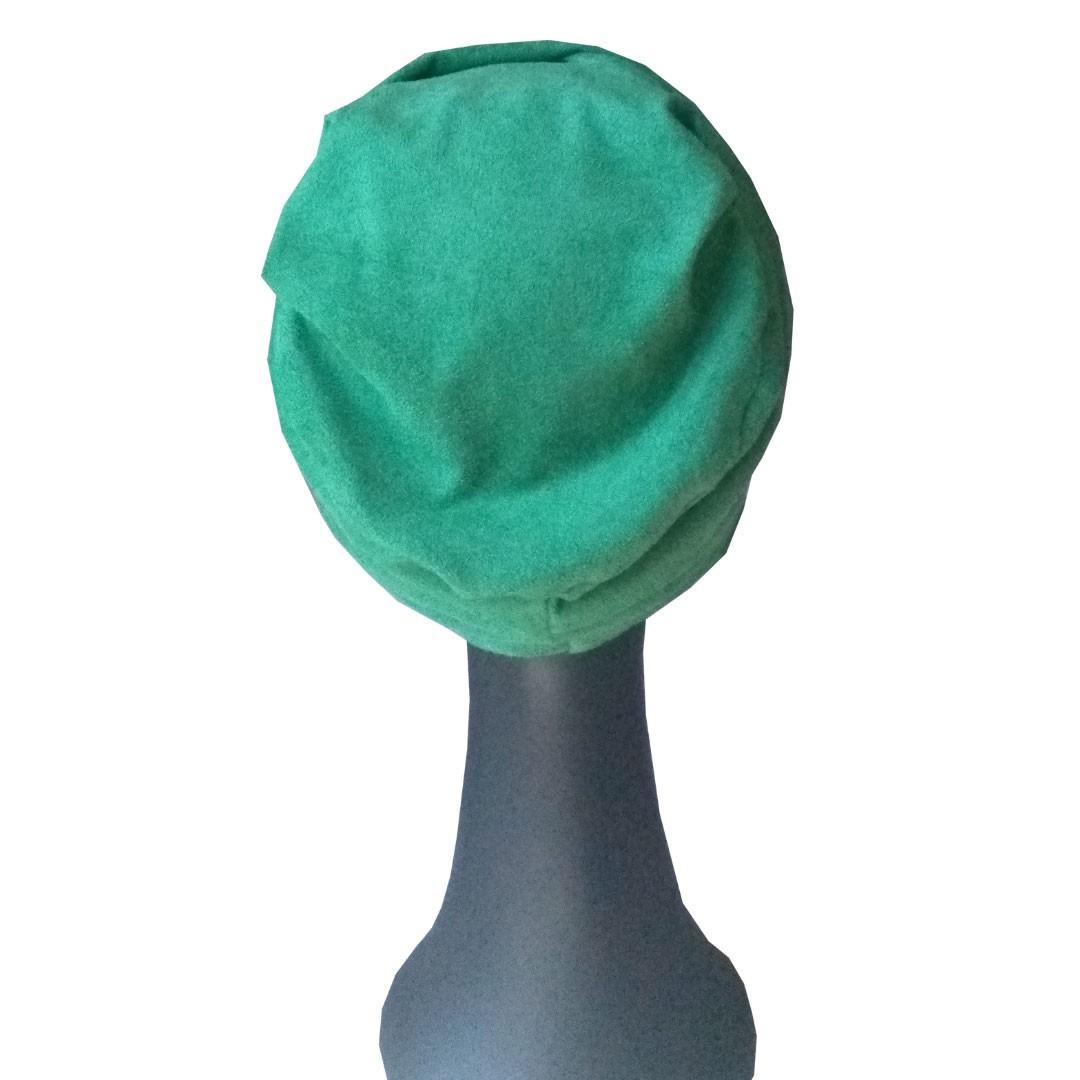 Turbante Feminino Fechado Gorro Touca Sophie Verde Hortelã