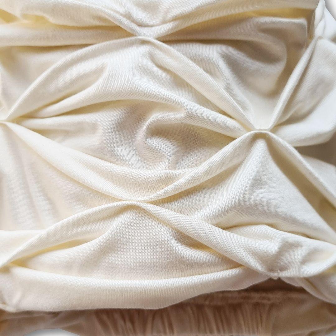 Turbante Feminino Off White Branco Bee House