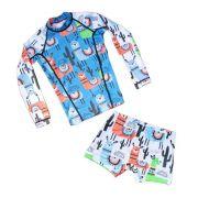 Camisa Infantil Proteção Solar - Lhama