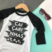 Camiseta Infantil Manga Longa Caiçarinhas