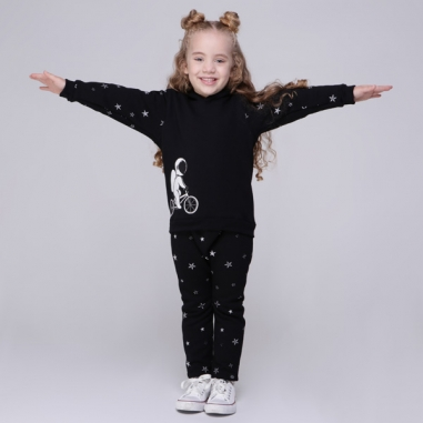 Conjunto Moletom Infantil Astronauta