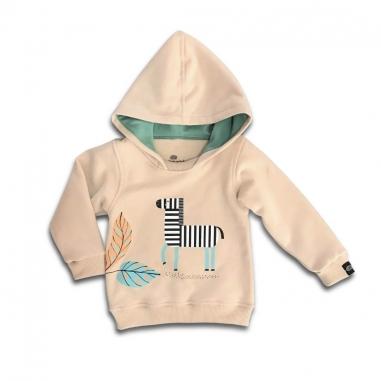 Conjunto Moletom Infantil Zebra