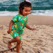 Macacão Bebê Proteção Solar UV 50+ Mexicano