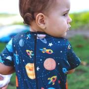 Macacão Bebê Proteção Solar UV 50+ Universo