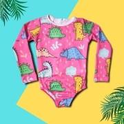 Maiô Infantil Proteção Solar - Dino