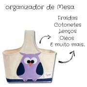 Organizador de Fraldas para Bebês Coruja Divertido