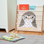 Rack para Livros Infantil Coruja 3 Sprouts