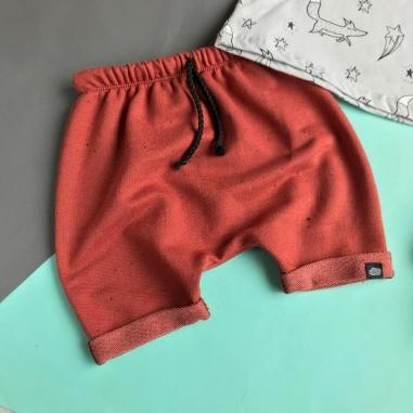 Short Infantil Terra Cota