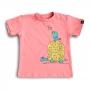 Camiseta Infantil a Tartaruga e o Passarinho