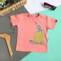 Camiseta Infantil Tartaruga e o Passarinho