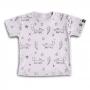Camiseta Infantil Raposinhas nas Estrelas