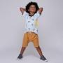 Short Infantil Mostarda