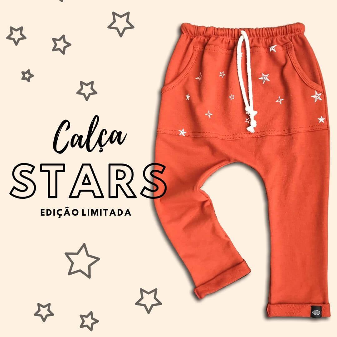 Calça Infantil Terra Stars Elastic