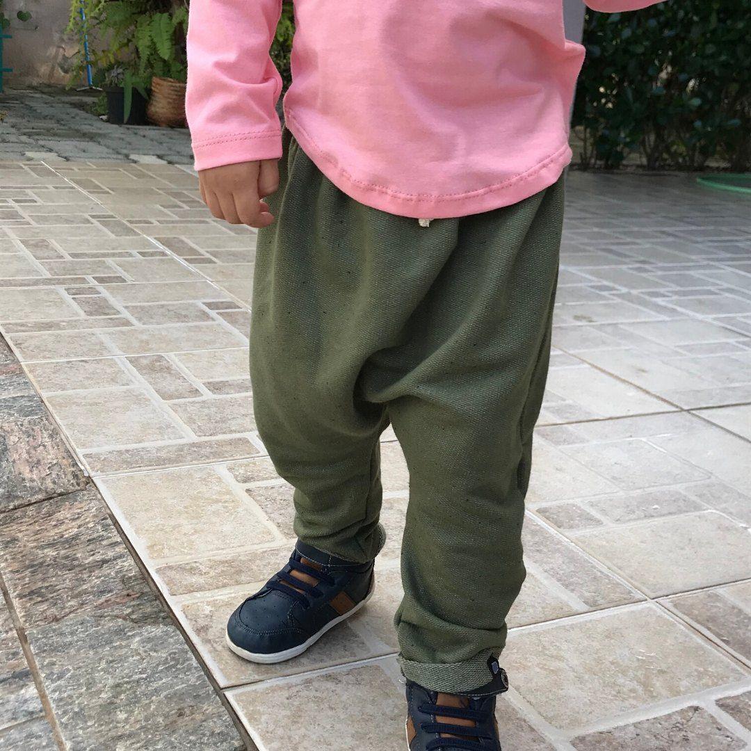 Calça Infantil Verde Escuro