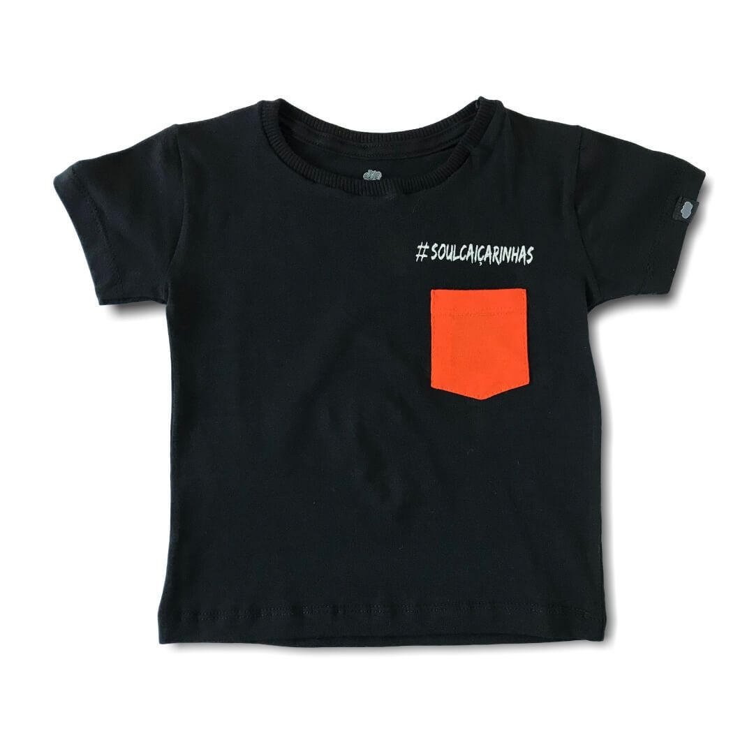 Camiseta Adulto Family Preto #SoulCaiçarinhas