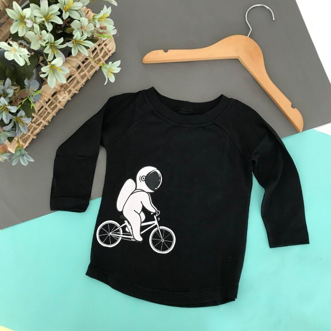 Kit 3 Camisetas Longas Infantil Escolha suas favoritas
