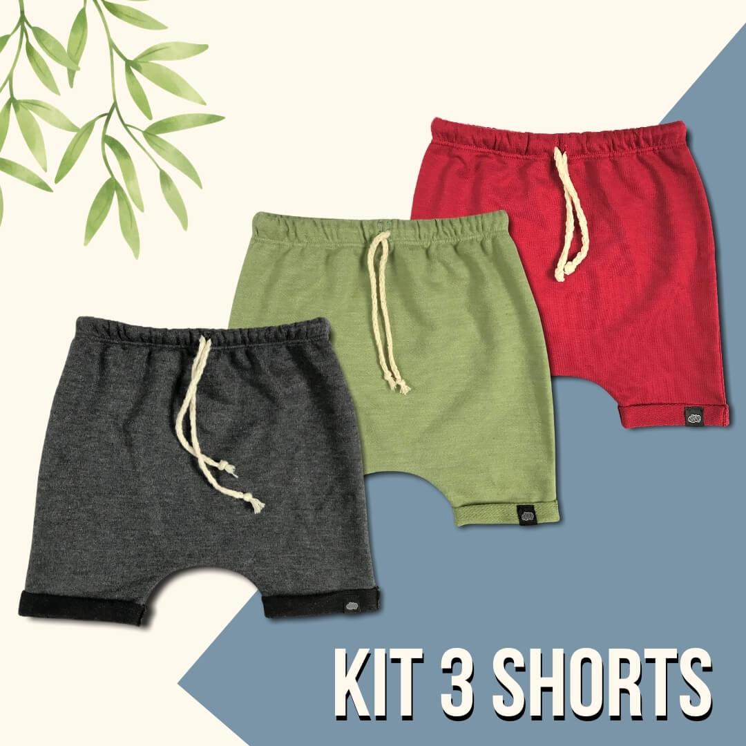 Kit 3 Short Liberty