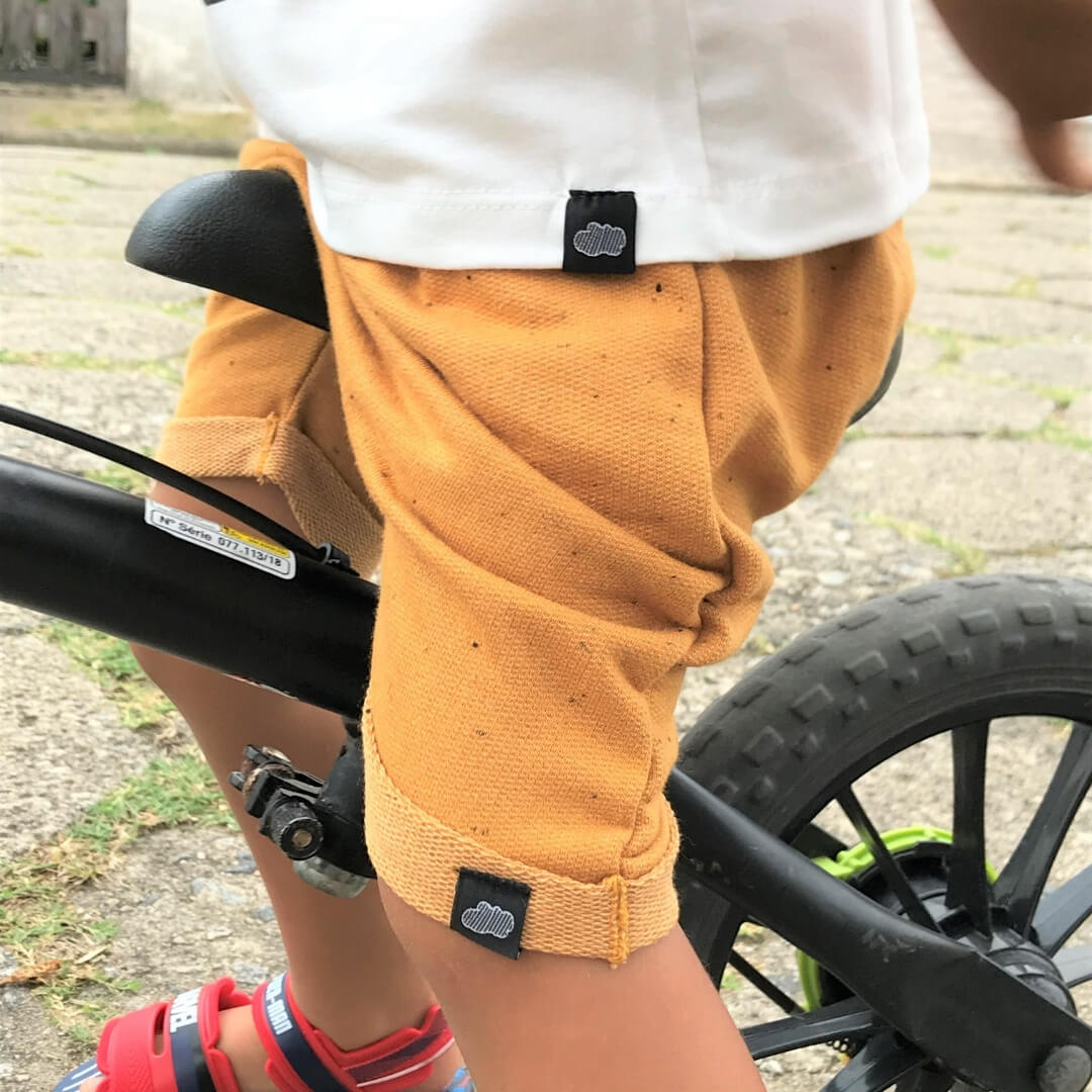Kit 3 Short Saruel Infantil Moletinho