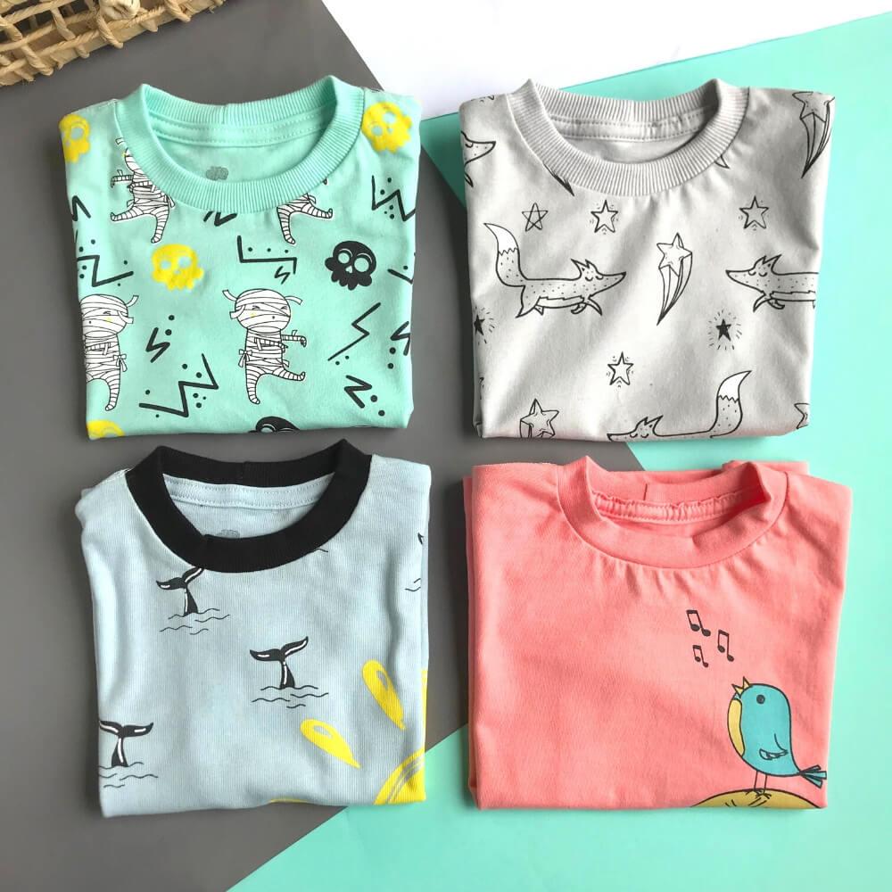 Kit 4 Camisetas Turbine