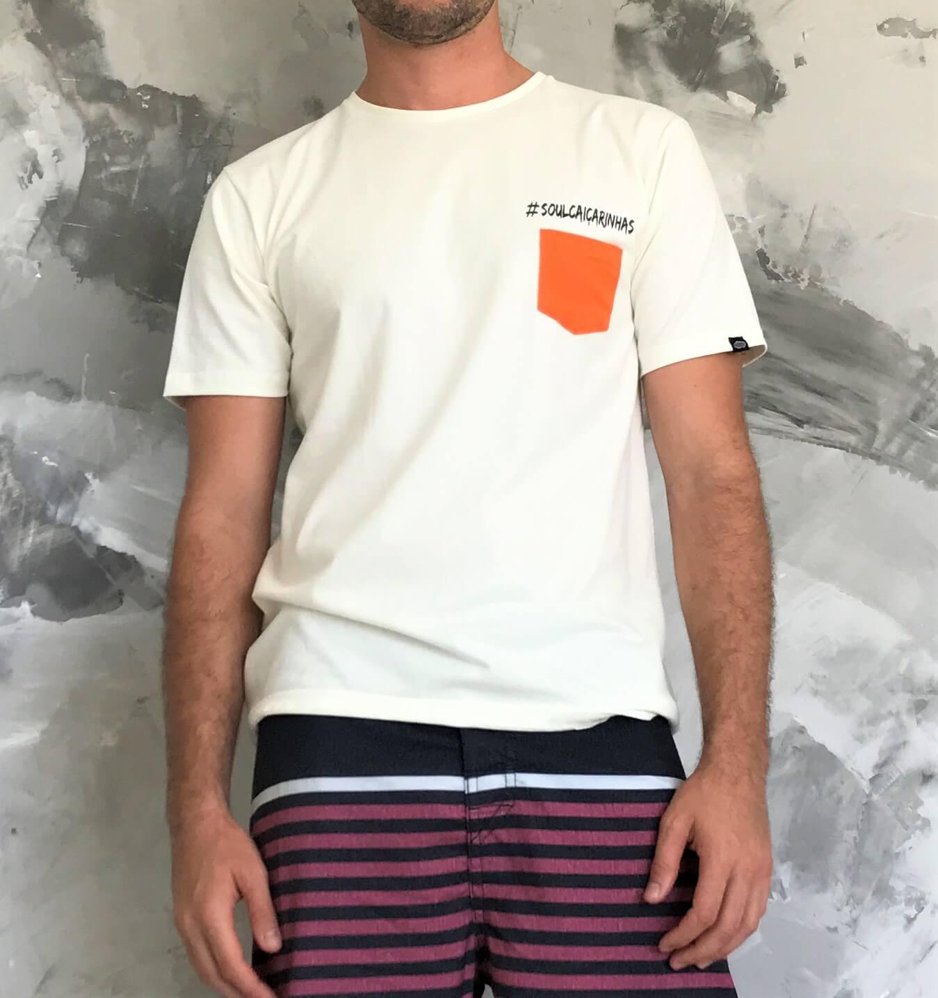 Kit Família - 3 Camisetas Soul Caiçarinhas Bege